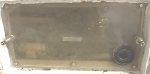 Geberit Schutzplatte transparent alt